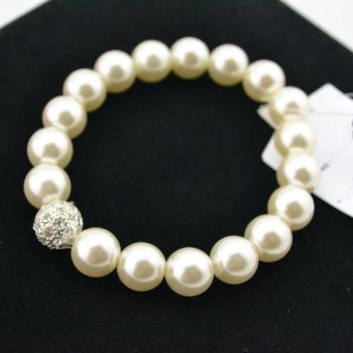 White Pearls Design Elegant Bracelet