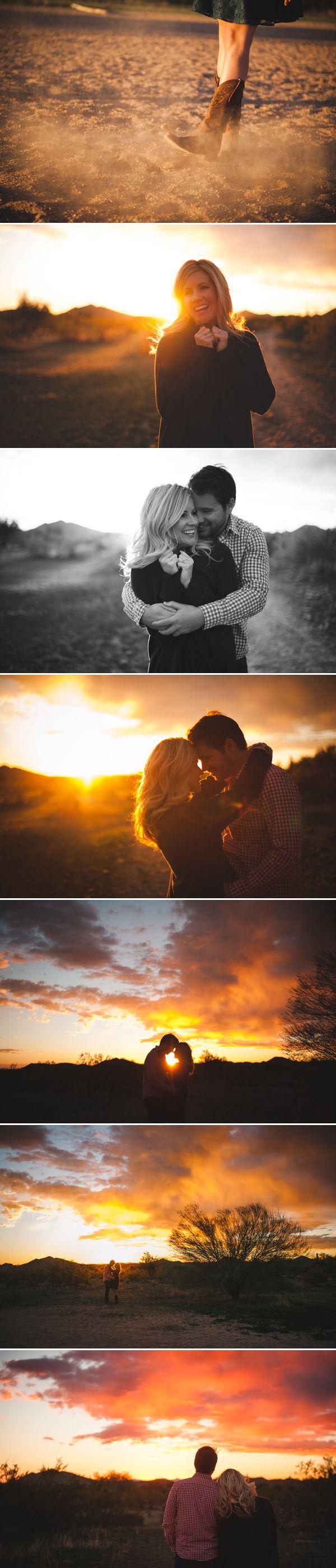 Beautiful Arizona Desert Engagement from BAKEPHOTOGRAPHY