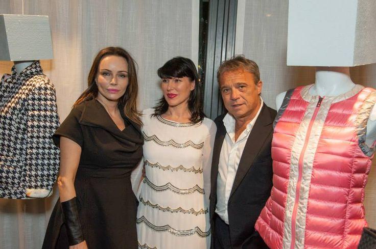 Bosideng Fashion Experience - Francesca Neri, Claudio Amendola