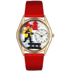 Firefighter Watch Small Gold Style
