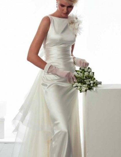 Bridal dress in seta Le Spose di Giò 2015