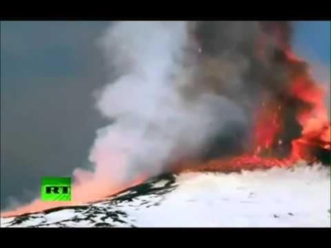 Mount Etna eruptingREZA SALAMI, Ph.D., P.E