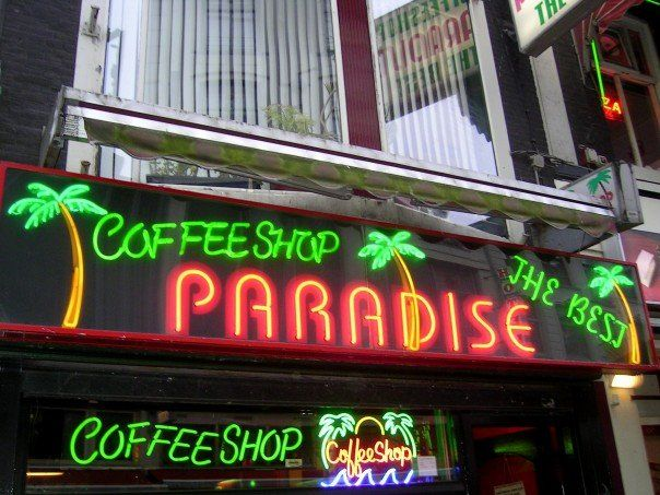 Coffee Shop! If it was a CAFE their would be no Marijuana.