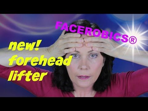 Face Exercise - Smooth Away Forehead Wrinkles With This New Face Exercise - Forehead Lifter! - YouTube