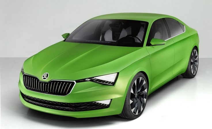 Review 2015 Skoda Vision C Release Front Side View Model