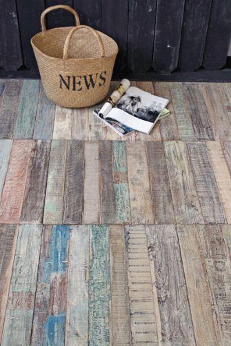 Recycled Teak Floor Tiles