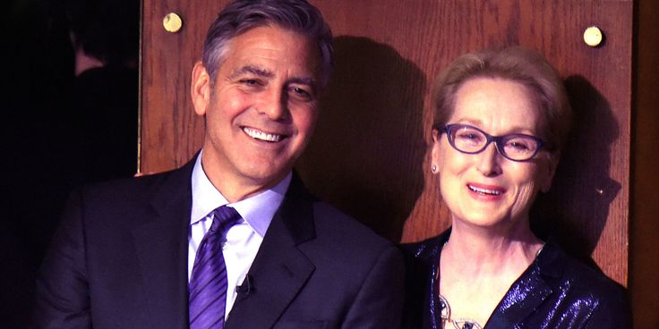 "George Clooney Takes Down Donald Trump for Calling Meryl Streep ""Overrated"""