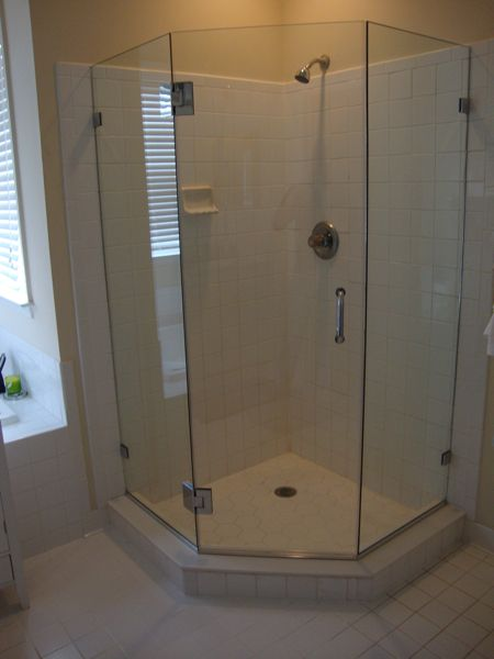 We Recommend Neo Angled Frameless Shower Glass Enclosures