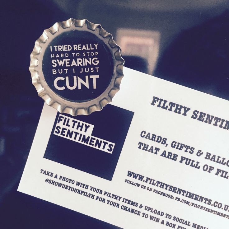 Filthy sentiments filthy fridge magnets beer cap bottle top available at www.filthysentiments.co.uk they make the perfect gift!