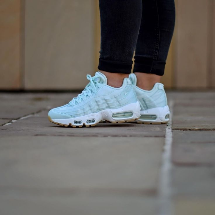 air max 95 satin qs bleu