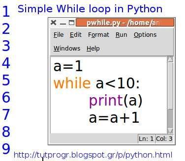 Simple while loop Python