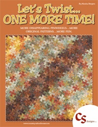 Let's Twist...One More Time! (book): Quilts Twister, Quilts Patterns, Country Schoolhouse, Time Quilts, Books Pinwheels, Marsha Bergren, Booklet Twists, Quilts Books, Books Country