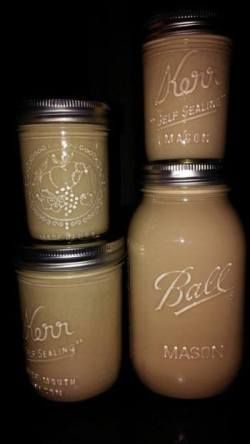 "Homemade ""Bailey's"" Irish Cream (try adding 1/2 teaspoon cocoa powder to this recipe also equal parts of almond extract as van.)"