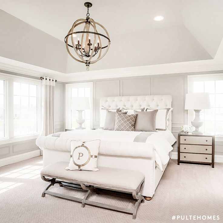 set a zen like scene with an all white bedroom that has touches of - All White Bedroom Decorating Ideas