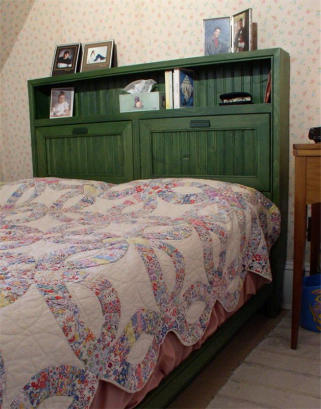 The Cottage Bookcase Bed  Woodworking Plans... not free, even the images
