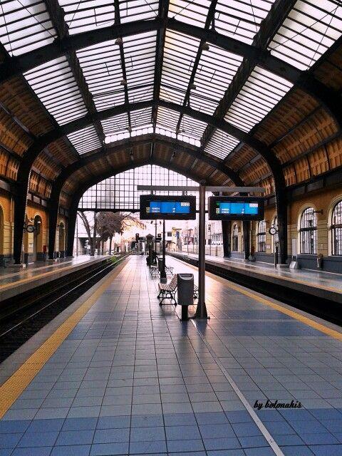 Piraeus metro station