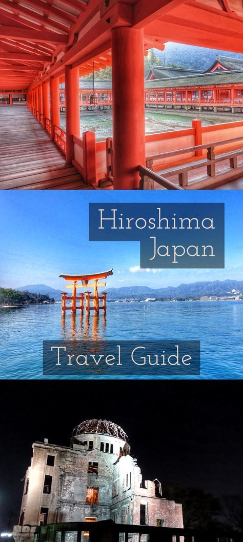 Hiroshima and Miyajima, Japan Travel Itinerary see the best of Japan. One-week travel guide and itinerary.
