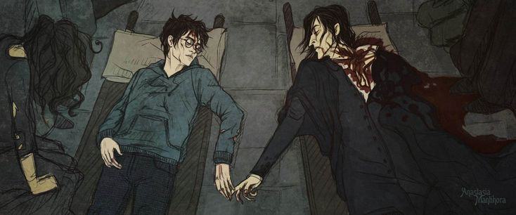 Pyrrhic victory by AnastasiaMantihora.deviantart.com on @deviantART the parallel with remus and tonks...:'(
