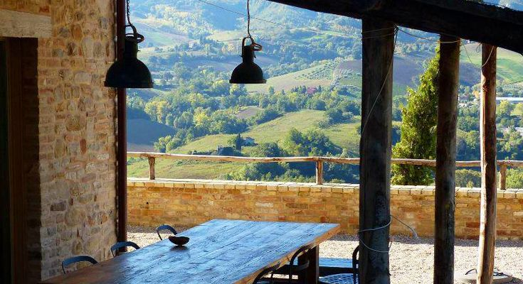 La Torre is situated in a wonderful location with magnificent views over the Tesino valley, from here you can see for miles!