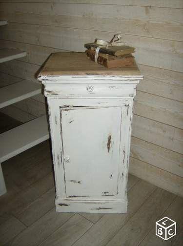 Les 610 meilleures images propos de meuble vieilli for Meuble cuisine shabby chic
