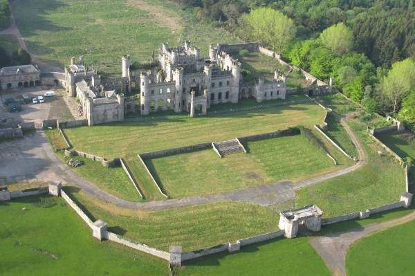 Lowther Castle, nr Askham, Penrith: The dramatic ruins of an 1806 Gothic castle set in 130 acres of historic gardens. The house & gardens are undergoing a major restoration project which started in 2010.  http://www.lowthercastle.org/