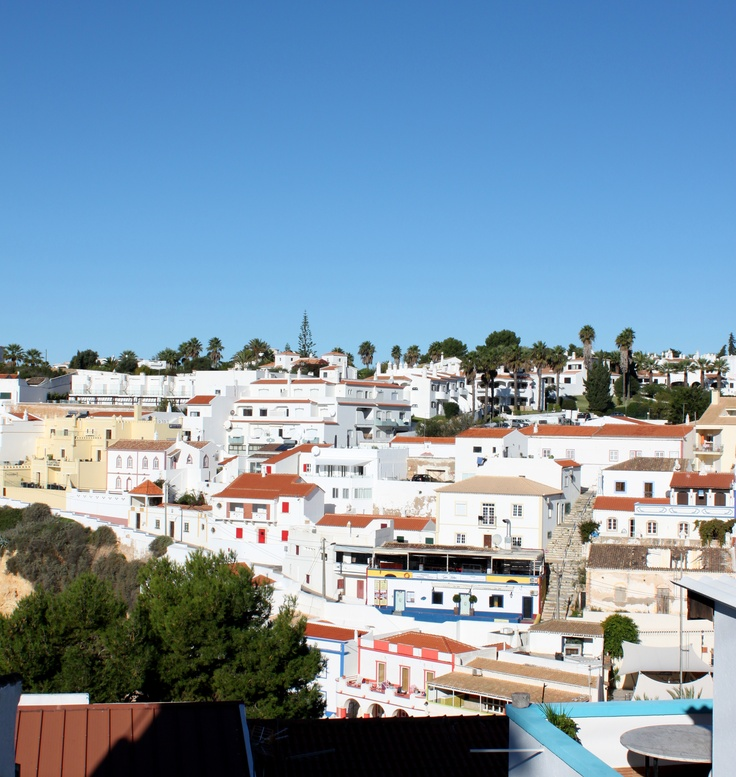 Winter paradise is a sunny day by the beach in #carvoeiro #algarve