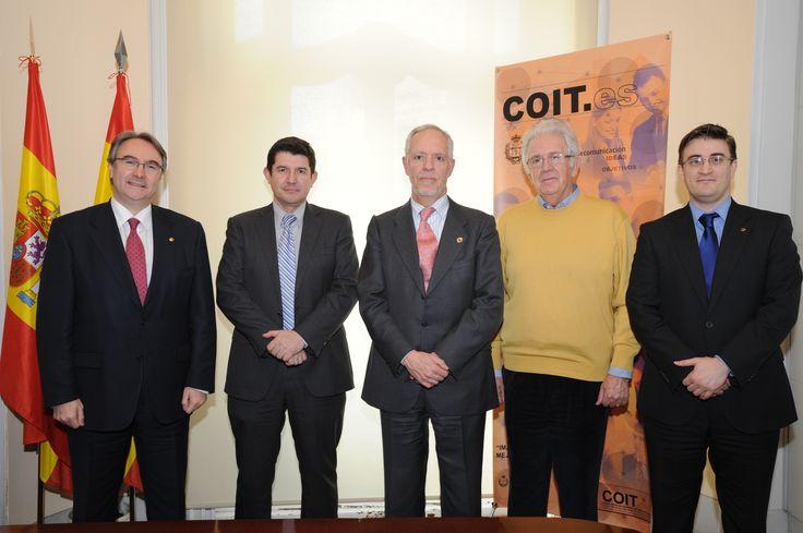 COIT, Firma Convenio con ONGAWA 2014