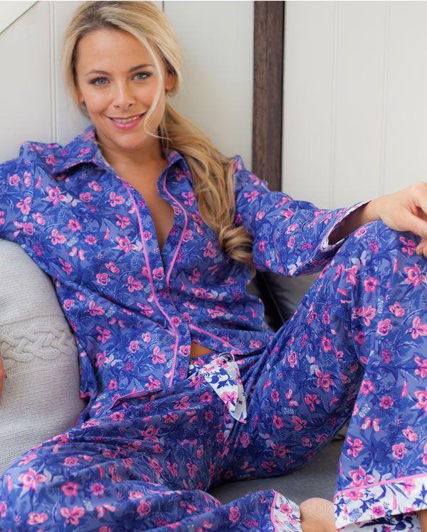 Betsy Dual Floral Printed Pyjamas