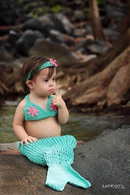 Sirenita hermosa.