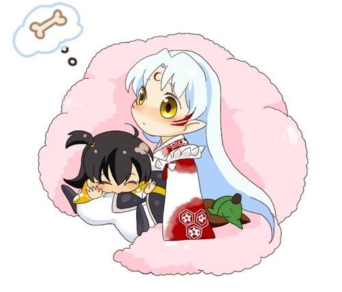 Inuyasha And Sesshomaru Chibi Inuyasha And Se...