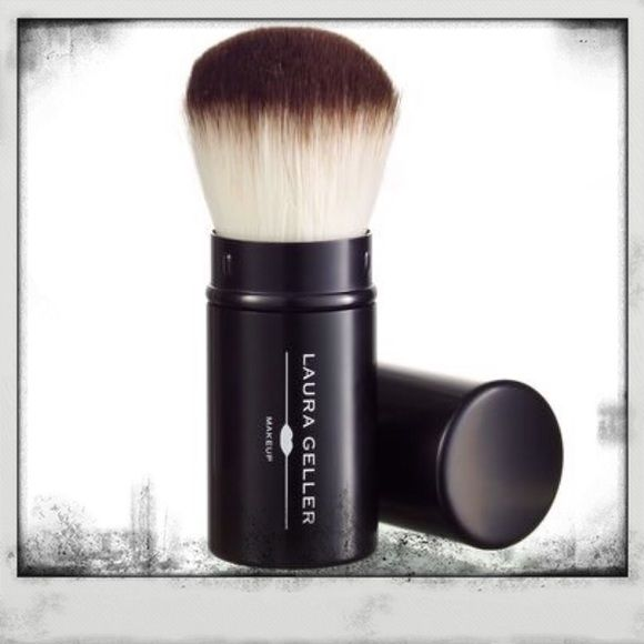 Laura Geller Retractable Kabuki Brush  New, never used or tested. Retractable Kabuki Brush by Laura Geller. A top seller on QVC and Laura Geller's website. Great for traveling, but not so small that it doesn't give good coverage. This is a nice size. PRICE IS FIRM UNLESS BUNDLED. I DO NOT TRADE. Thank you for looking❤️ Laura Geller Makeup Brushes & Tools