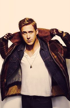 Ryan Gosling.. I almost loose my eyes