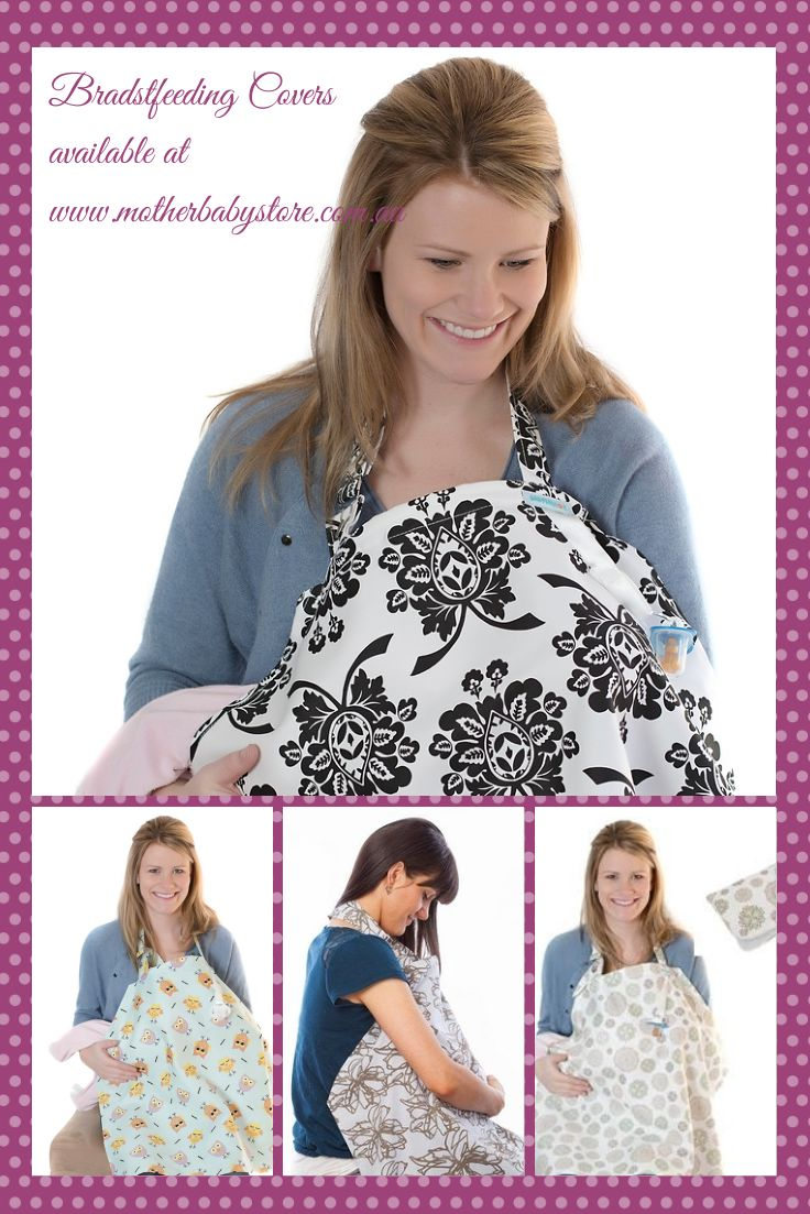 Breastfeeding Covers with matching Nappy Wallets available at www.motherbabystore.com.au