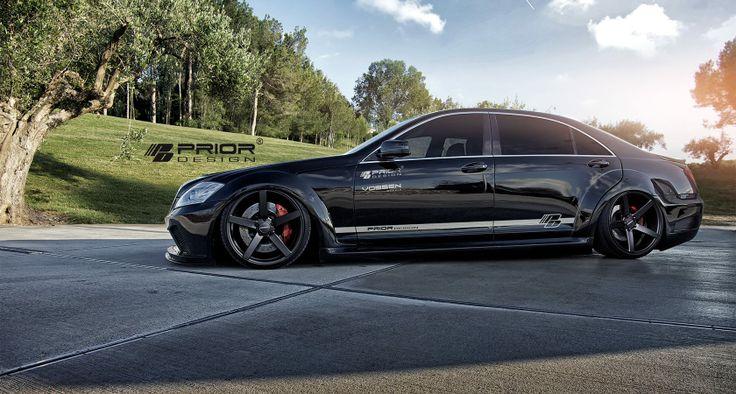 Prior Design Black Edition V2 Aero Kit Mercedes Benz S