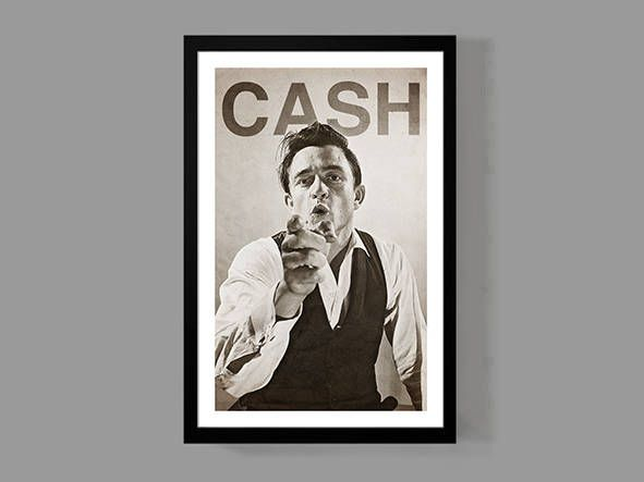 Johnny Cash Custom Poster - Legendary Cash Print - Iconic, Classic, Rebel of Country Music Legend by MusicAndArtCoUSA on Etsy