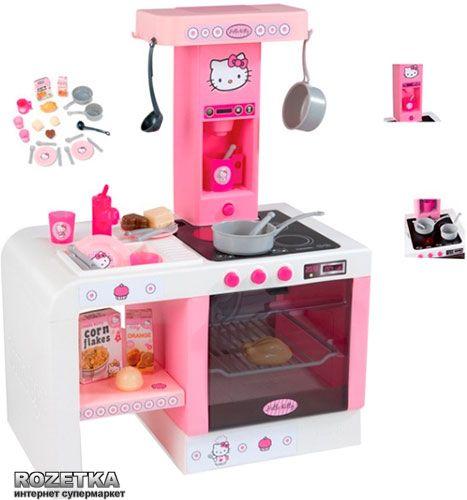 Кухня Hello Kitty Cheftronic Smoby с аксессуарами (24195)   Rozetka.ua
