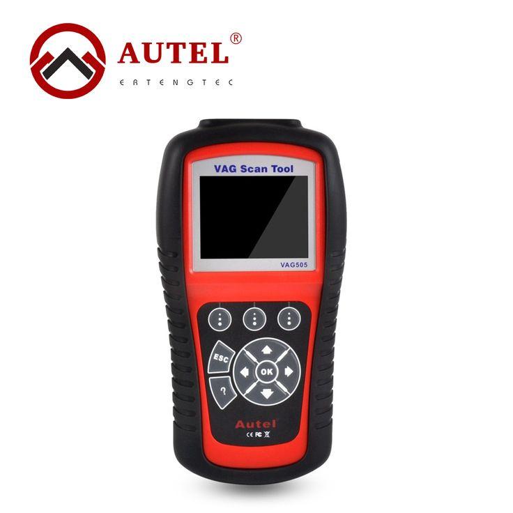 Autel MaxiService VAG505 OBDII OBD2 Diagnostic Tool OBDII Code Reader & Clean VAG 505 Trouble Codes Cleaner //Price: $178.92      #sale