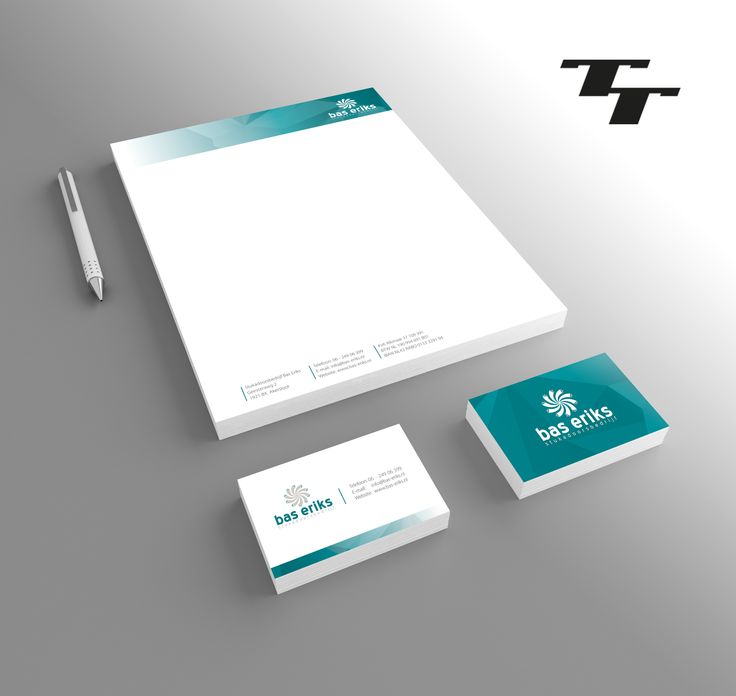 Stationery Design for Bas Eriks