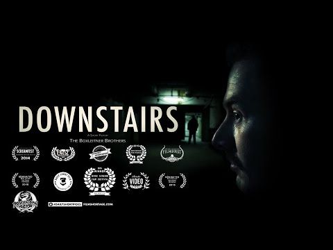 DOWNSTAIRS - Award Winning Short Horror Film - YouTube