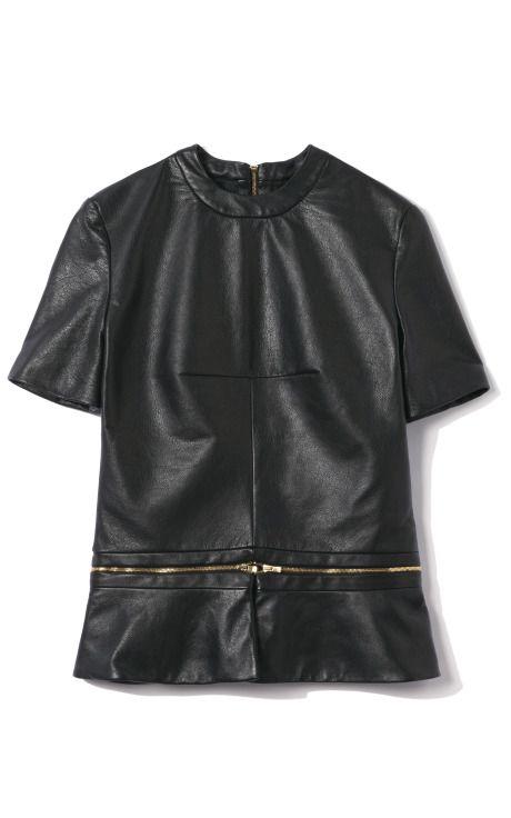 The ever versatile zipper leather top... Ksubi on Moda OperandiAmazing Leather, Tops Ksubi, Fashion, Zippers Leather, Leather Tops, Leather Zippers, Leather Ksubi, Leather Peplum, Versatile Zippers