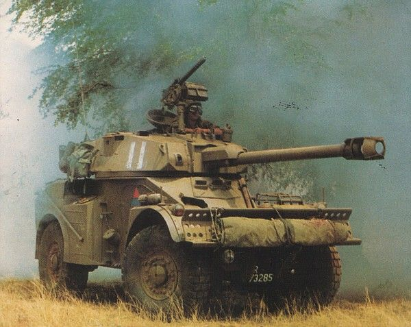 South African Armoured Corps: Eland-90 Armoured Car