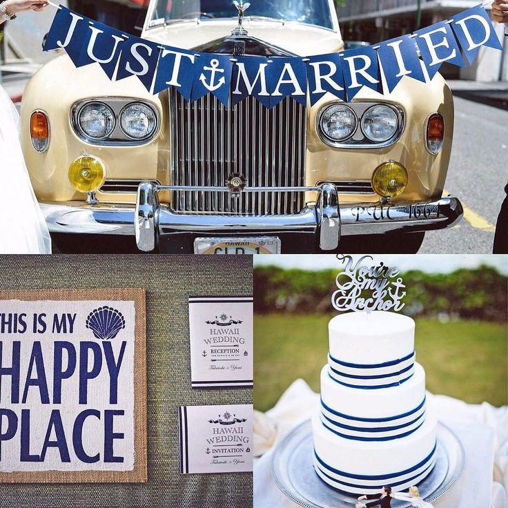 今日のpick up REAL PARTY YOU'RE MY ANCHOR  新郎の趣味であるヨットや碇のモチーフを小物やペーパーアイテムなどに散りばめテーマカラーのネイビーとイエローでハワイの青空やビーチにぴったりの爽やかなマリンテイストに  このパーティーのアルバムを見る@archdays プロフィールから記事にとべます  #ハワイウェディング #ハワイ結婚式 #リゾート婚 #花嫁diy #ウェディング #プレ花嫁 #オリジナルウェディング #花嫁 #卒花嫁 #卒花嫁レポ #結婚式 #結婚準備 #ウェディングレポ #ウェディングケーキ #ガーランド #マリンウェディング #ナチュラルウェディング #ペーパーアイテム #招待状 #ケーキトッパー #全国のプレ花嫁さんと繋がりたい #2017婚 #2017夏婚 #2017春婚 #2017秋婚  #wedding #bridal #hawaiiwedding #nauticalwedding #weddingcake