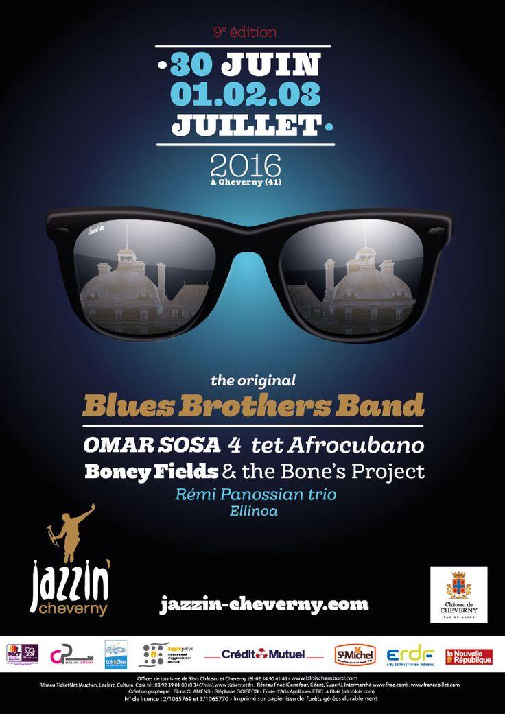 L'affiche 2016 – La prog 2016 – Festival Jazzin'Cheverny