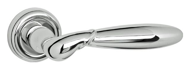 Atlantic Old English 'Radius Rochester', Polished Chrome Door Handles - ROE-173 CP (sold in pairs) None