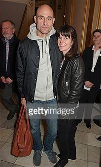 Mark Strong and wife Liza Marshall