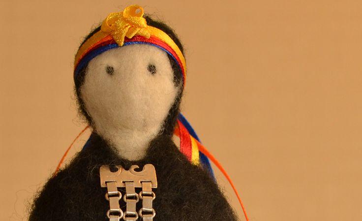 Mujer Mapuche