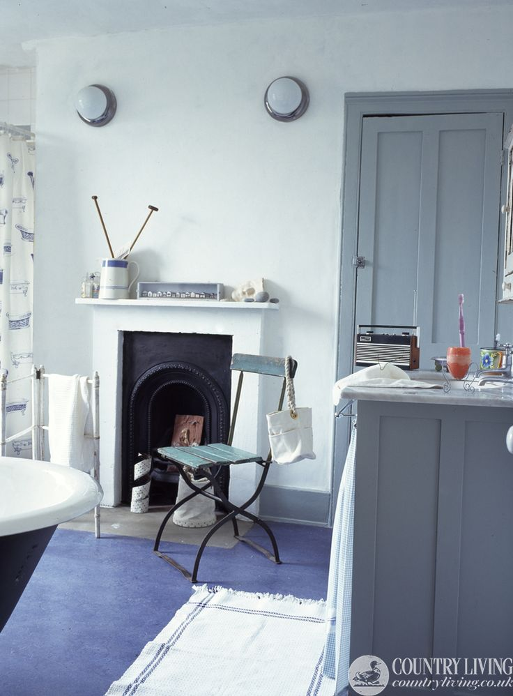 Four Simple Ideas To Freshen Up A Bathroom Http://www.countryliving.