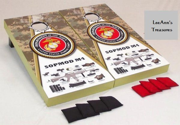 #USMC #SopmodM4 #Cornhole #Game #Set #Marines #BBQ #Family #Tailgating #Shop #eBay