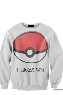 I want Pokemon clothes!
