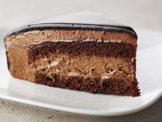 Torta de mousse de chocolate Anna Olson